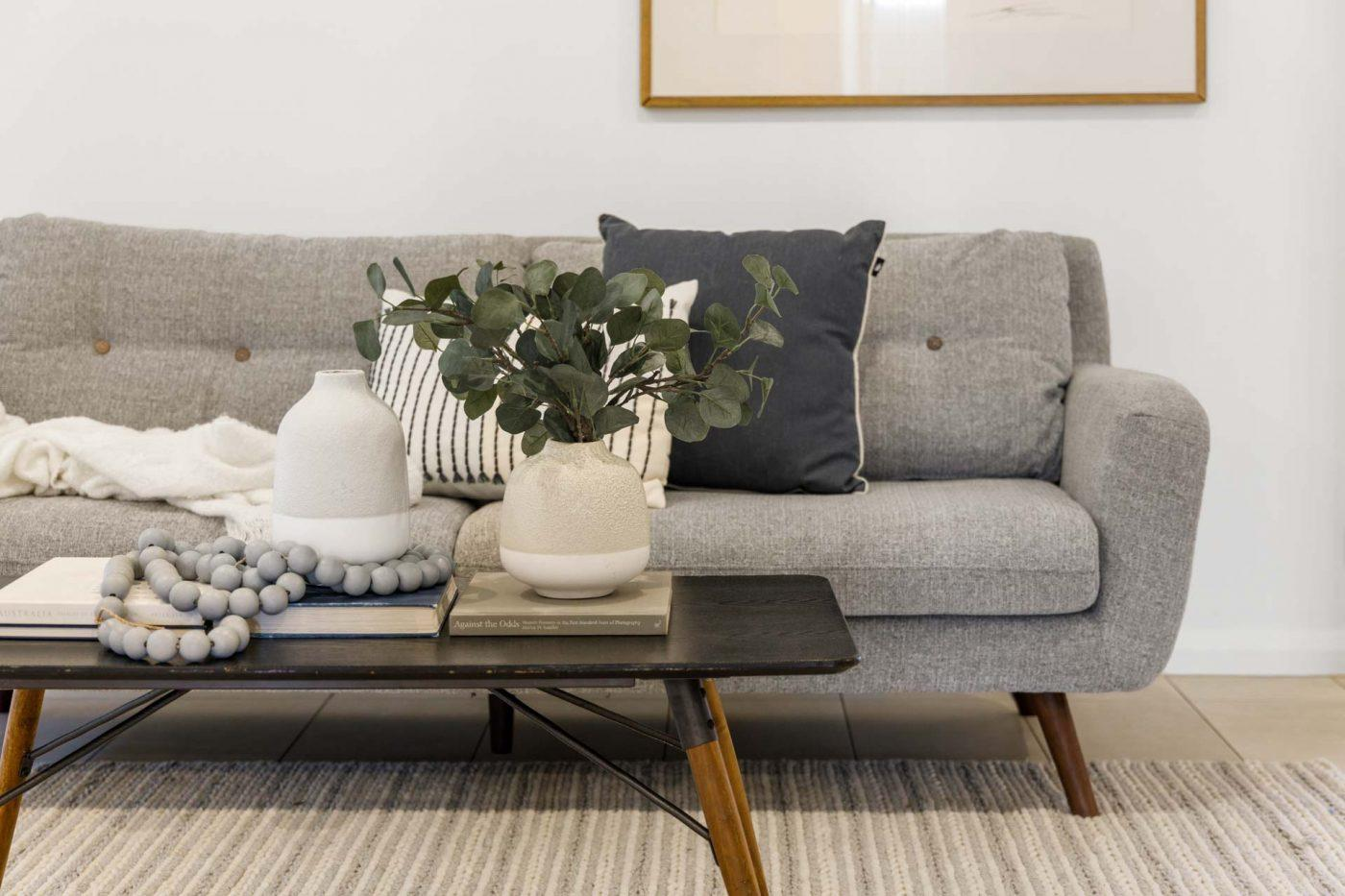 Comfortable Sofa with Classy Table